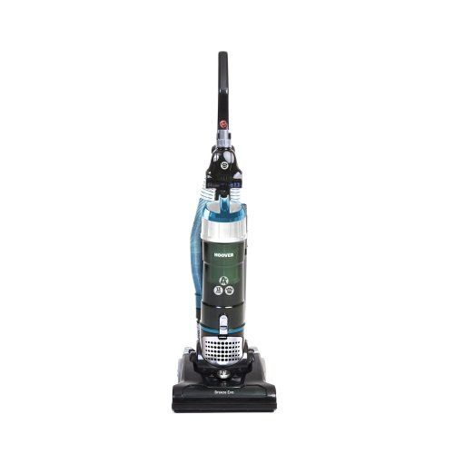 Hoover Breeze Evo TH31BO02 Bagless Pets Upright Vacuum Cleaner, Black & Turquoise