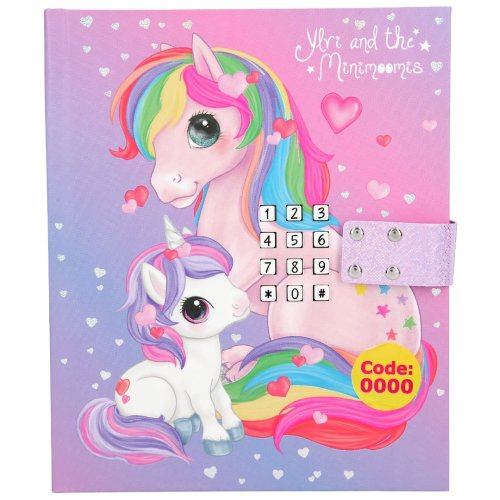 Depesche Ylvi & the Minimoomis Musical Light Up Diary with Code 10855