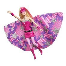 Barbie in Princess Power Transforming Super Sparkle Doll - Superhero Toy