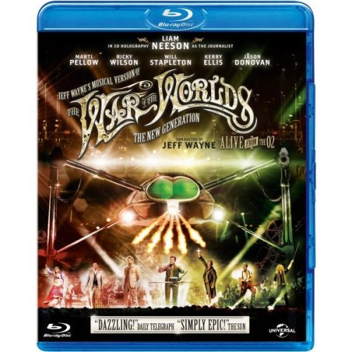 Jeff Waynes Musical Version of the War of the Worlds: the New Generation - Alive on Stage