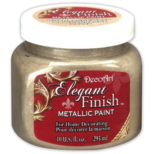 Elegant Finish Metallic Paint 10oz-Champagne Gold