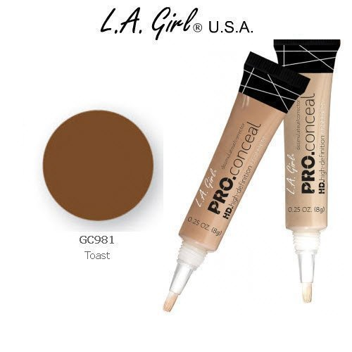 L.A. Girl Pro Conceal HD 981 Toast - 2 Pack