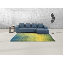Carpet - Rug - green-yellow - polyester - EFEZ