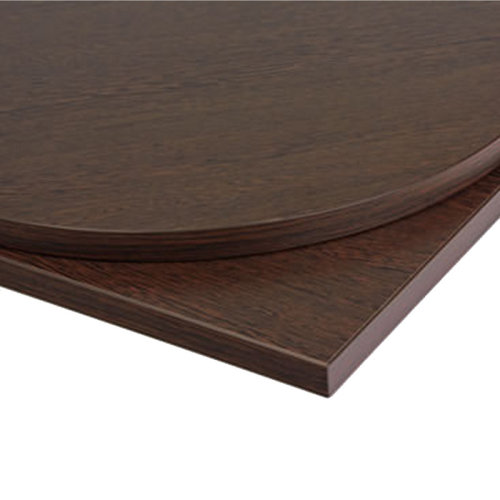Taybon Laminate Table Top - Wenge Round - 700mm