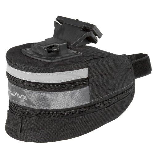 M-Wave Clip-on Wedge Bicycle Bag - Black, 20 cm