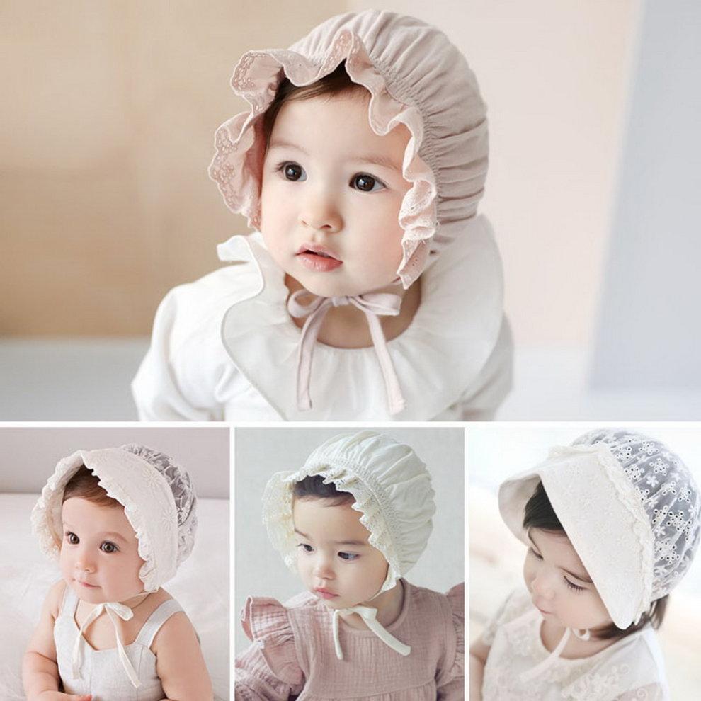 ... Baby Toddler Sun Hat Bonnet Baby Pilot Cap Beanie Infant Cap 3-12  Months 9ba4ea4b2e8