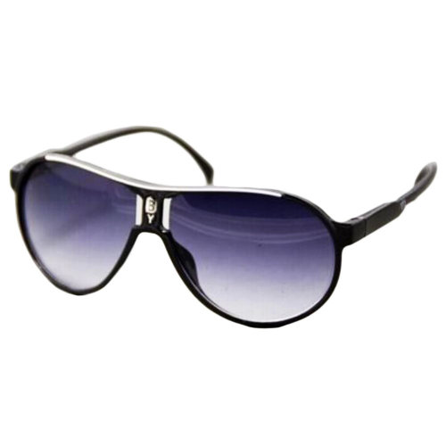 Outdoor Cool Eyeglasses UV Prevention Cycling Sunglasses For Children-Black