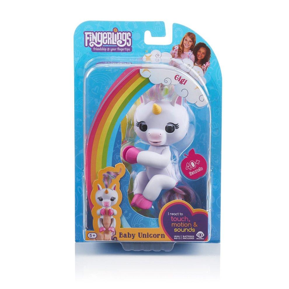 Electronic, Battery & Wind-up Electronic & Interactive Creative Fingerlings Baby Unicorn Gigi # 3708