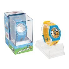 Adventure Time Wristwatch Analogue Yellow In Display Pvc -