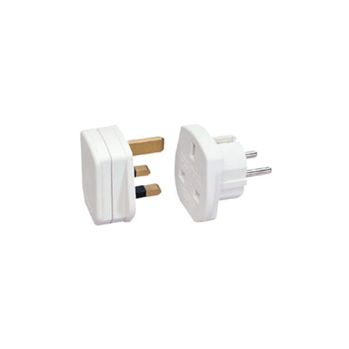 Lindy Euro Adapter Plug (UK appliances on continent)