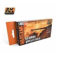 Ak01160 - Ak Interactive Set German Panzer Grey Set