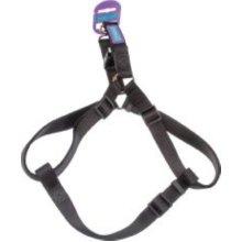 "3/4"" x 30"" Black Dog Harness - Co Nylon 19mm X76cm -  dog co nylon harness black 19mm x76cm"