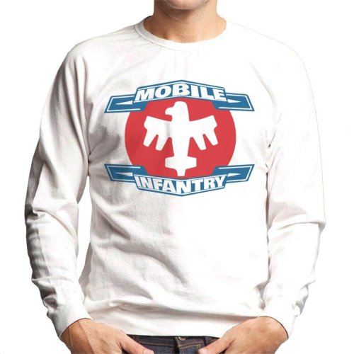 Mobile Infantry Logo Starship Troopers Men's Sweatshirt