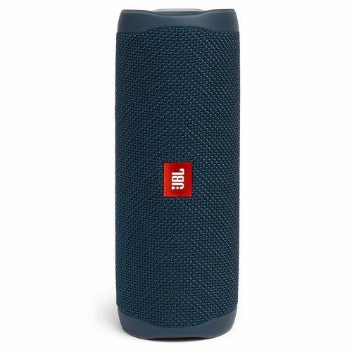 (Blue) JBL Flip 5 Portable Waterproof Speaker