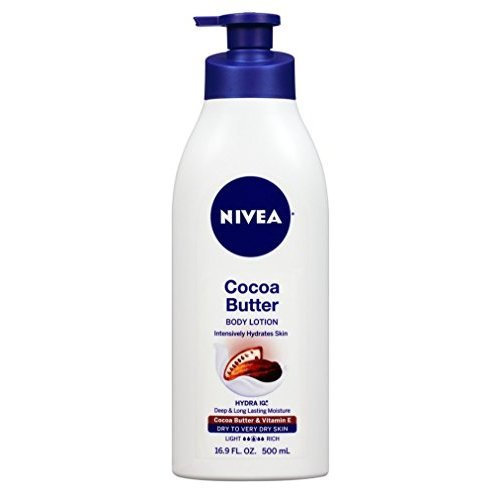 NIVEA Cocoa Butter Body Lotion 16.9 fl. oz. (Pack of 2)