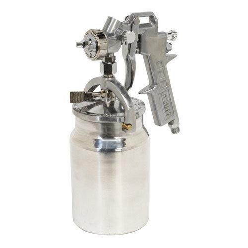 Sealey SSG401 Suction Feed Spray Gun 1.5mm Set-Up