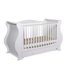 Tutti Bambini Louis Cot Bed - White
