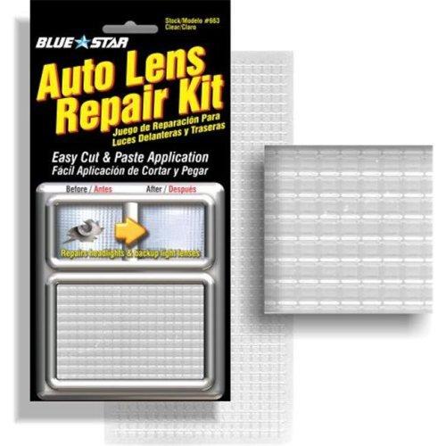 Blue Star 663 Auto Lens Repair Kit, Clear Textured