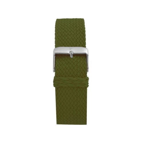 Wallace Hume Olive Green Men's Perlon Watch Strap