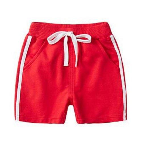 Baby Boy Short Pants Cute Short Pants for Summer Suitable for 120cm [D]