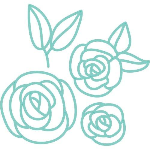 Kaisercraft Decorative Die-Fine Line Flowers