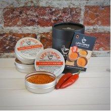 Life of Spice Mini American Rub Collection - Gift Set of 3 BBQ Rubs (40g/30g each) - Memphis Belle, Kansas City Rib Rub, Sweet Home Alabama