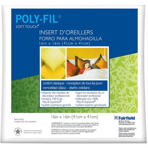 "Fairfield Soft Touch Down-Like Pillowform-16""X16"" 100% Polyester 16""X16"""