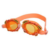 Lovely Crab Children Waterproof Anti-fog Goggles Swimming Goggles,Orange