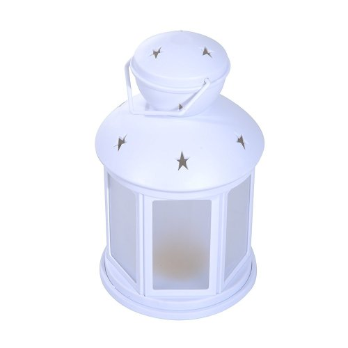 Homcom 12 LED Star Lantern | Warm Light Christmas Lamp