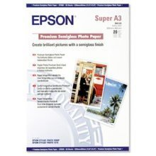 Epson Premium Semigloss Photo Paper, DIN A3+, 250g/m2, 20 Sheets photo paper