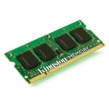 Kingston 2GB, DDR3, 1333MHz (PC3-10600), CL9, SODIMM Memory, Single Rank
