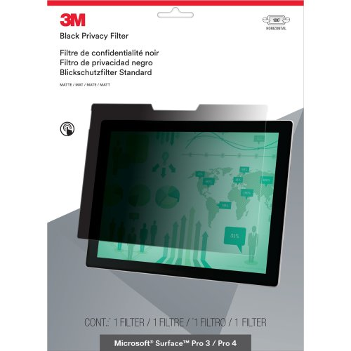 3M Privacy Filter for Microsoft Surface Pro 3 / Pro 4 - Landscape