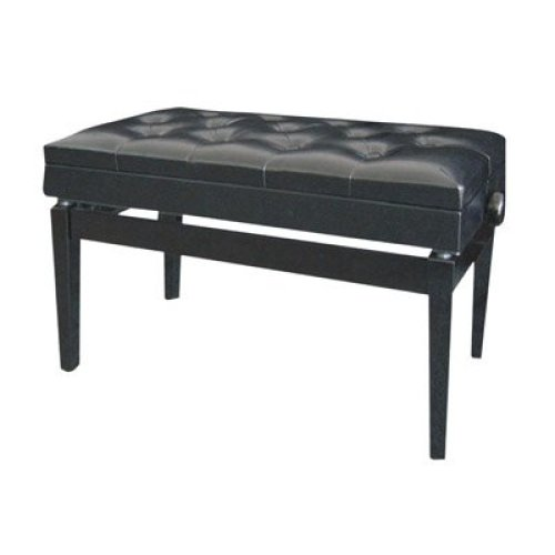Luxury Adjustable Piano Bench with Storage Compartment