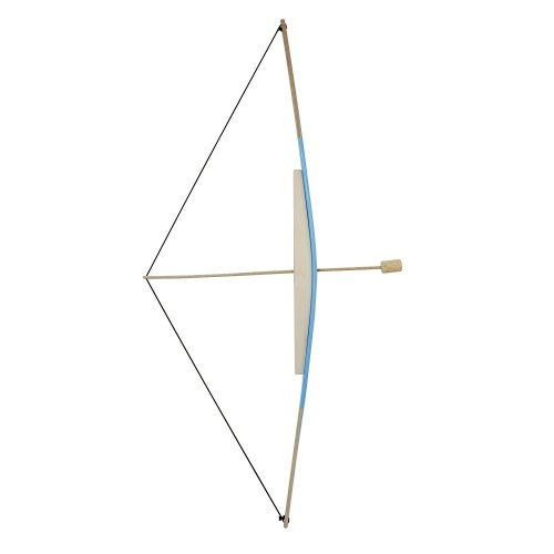 Obique Children's Wooden Toy Large Bow & 3 Arrows with Cork Tip, 96 cm