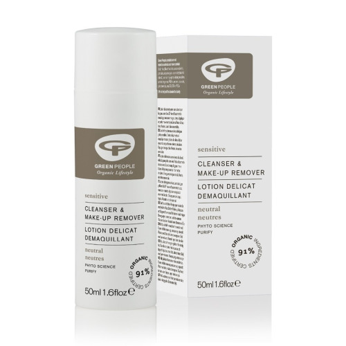 Green People Neutral Scent Free Cleanser and Make Up Remover 50ml
