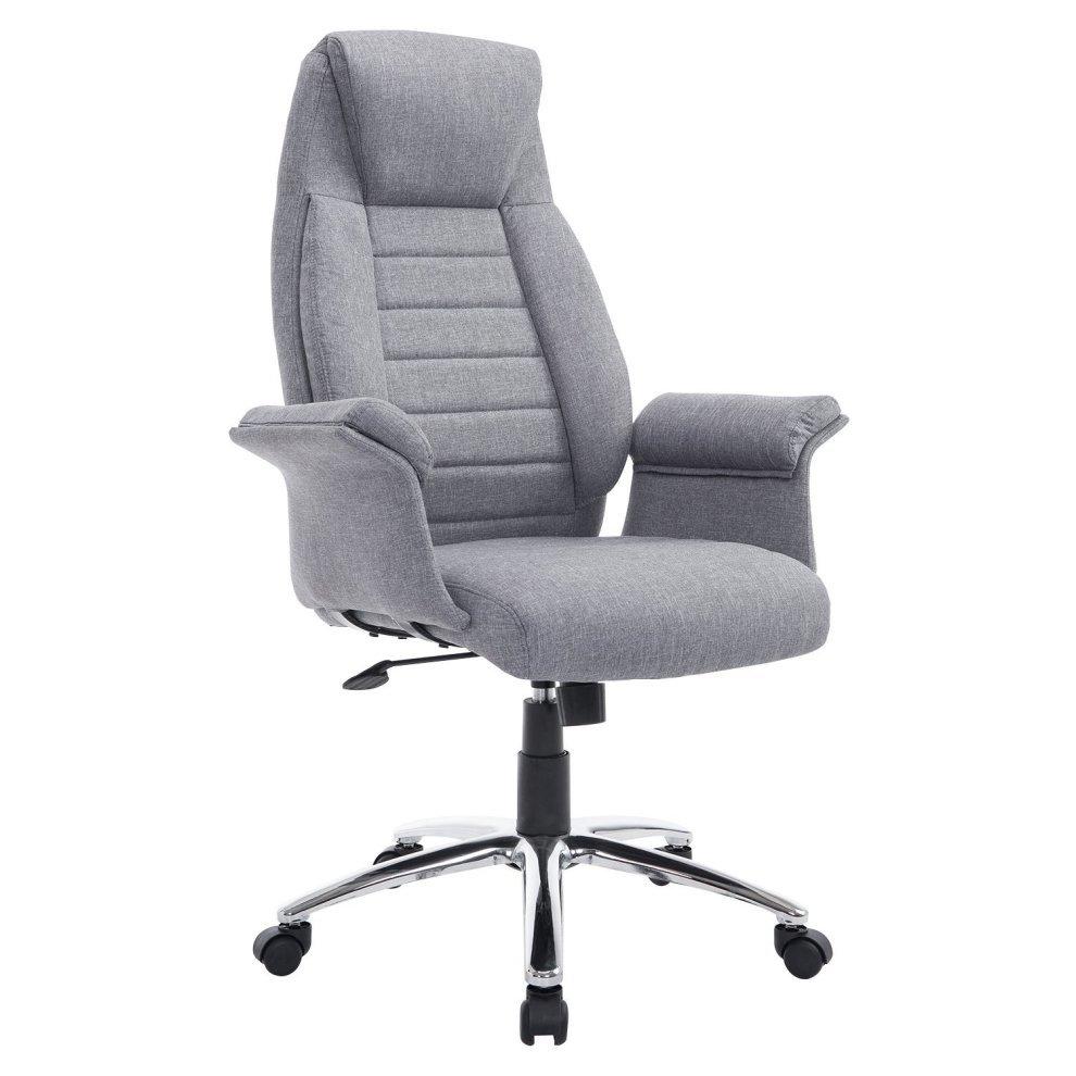 Amazing ... Homcom High Back Fabric Office Chair Swivel   1. U003e