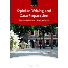 Opinion Writing and Case Preparation (bar Manuals)
