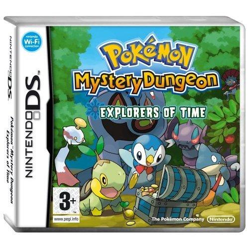 Pokémon - Pokemon Mystery Dungeon: Explorers of Time (Nintendo DS)