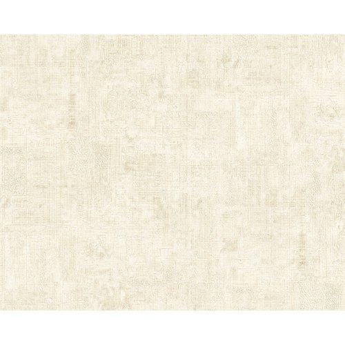 EDEM 9093-10 Plaster look wallpaper shiny cream white 10.65 sqm