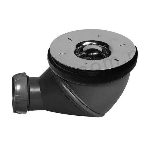 Wirquin James Multi Directional Shower Waste Drain 90mm 360 Degree High Flow