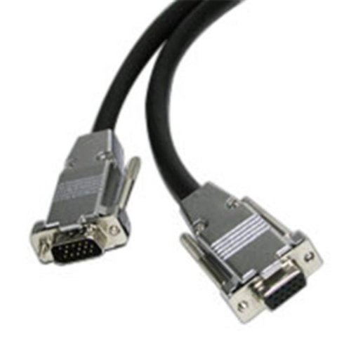 Cables To Go 40250 50ft PLENUM HD15 M-F UXGA MONITOR-PROJECTOR EXTENSION CABLE