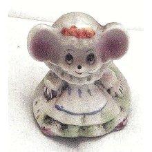 Vintage miniature mouse 1980's-Vintage 1980's miniature mouse ornament