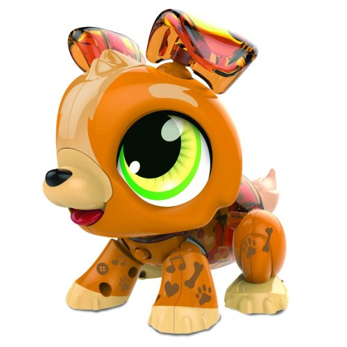 Build a Bot Sound Activated Puppy Robot Pet Toy