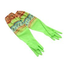 Ethnic Style Waterproof Gloves Laundry Gloves Cleaning Gloves Rubber Gloves