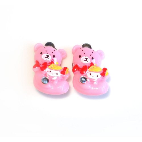 Idin Jewellery - Baby pink Bears