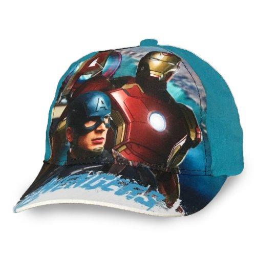 Avengers Baseball Cap - D4 - Aqua