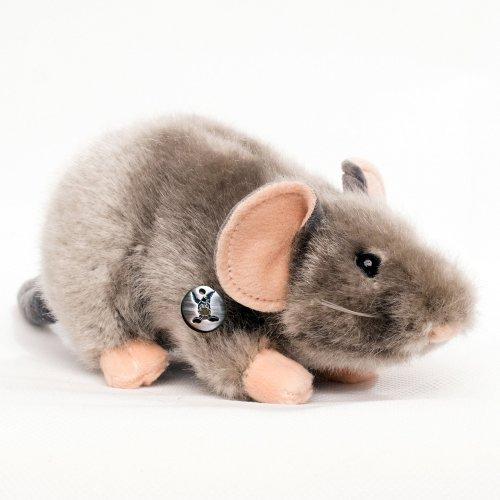 Maus MAUSI Rat grey 25 cm Plush mouse by Kuscheltiere.biz