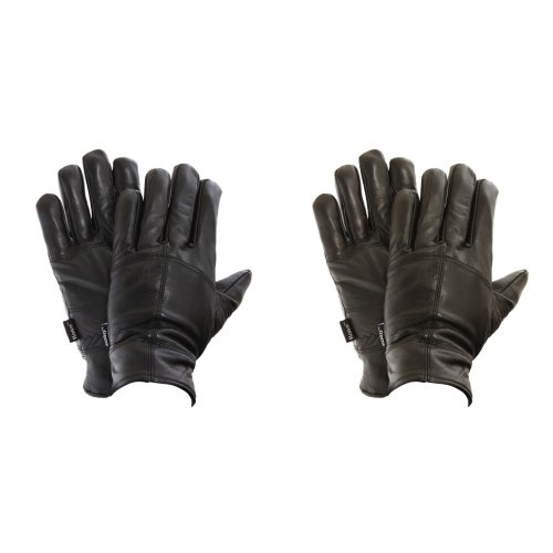 FLOSO Mens Thinsulate Lined Genuine Leather Gloves (3M 40g)