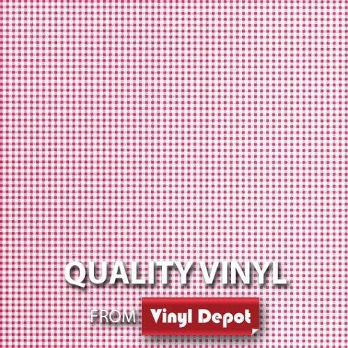 d-c-fix Sticky Self-Adhesive Decorative Vinyl Film Gingham Rose 450mm/m