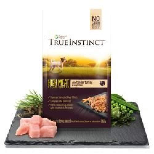 True Instinct Tender Turkey Fillets for Small Breed Dogs, 8 x 150g
